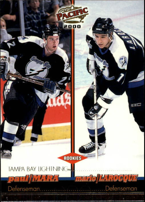 1999-00 Pacific #400 Paul Mara RC/Mario Larocque