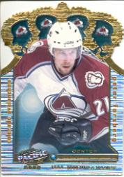 1999-00 Pacific Gold Crown Die-Cuts #9 Peter Forsberg front image