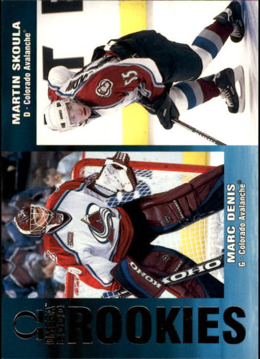1999-00 Pacific Omega #68 M.Denis/M.Skoula RC