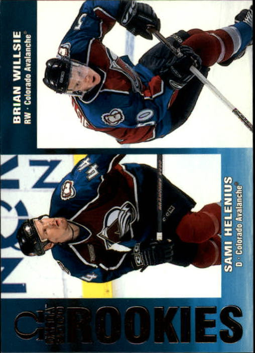 1999-00 Pacific Omega #69 S.Helenius RC/B.Willsie