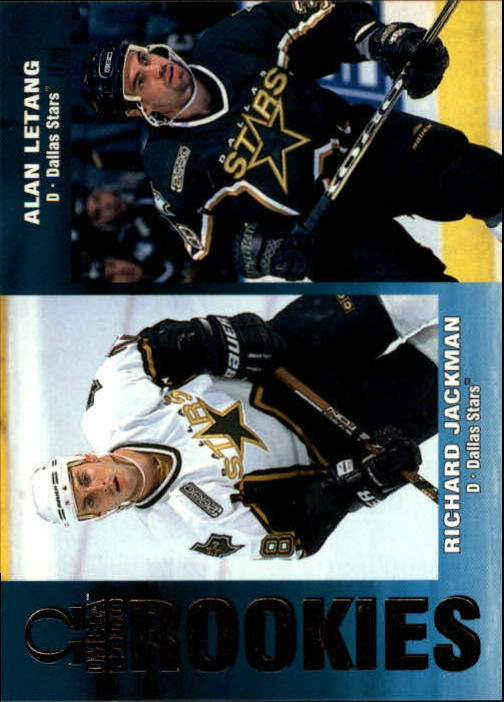 1999-00 Pacific Omega #79 R.Jackman/A.Letang RC