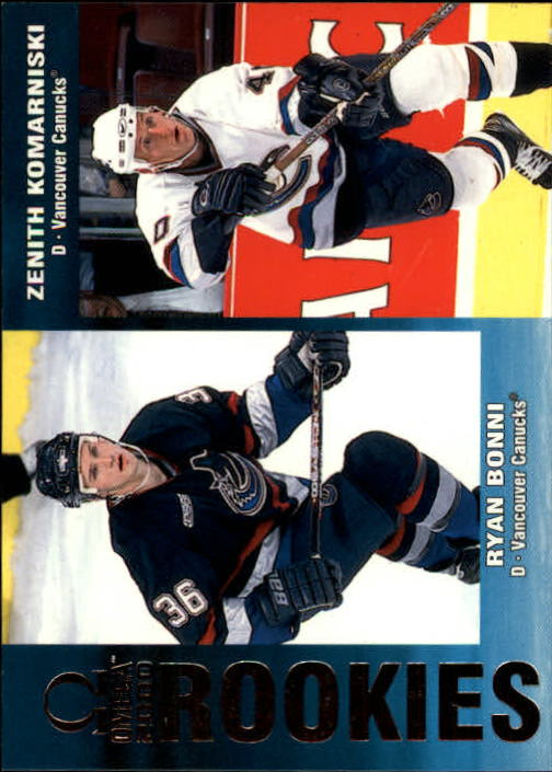1999-00 Pacific Omega #238 R.Bonni RC/Z.Komarniski