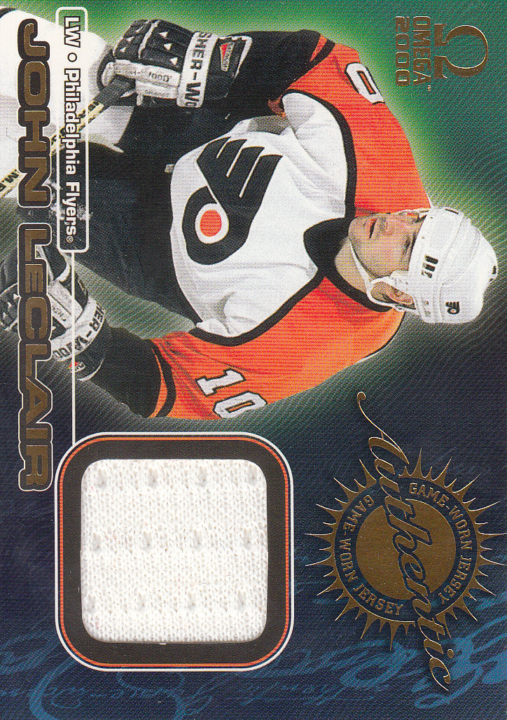 1999-00 Pacific Omega Game-Used Jerseys #6 John LeClair