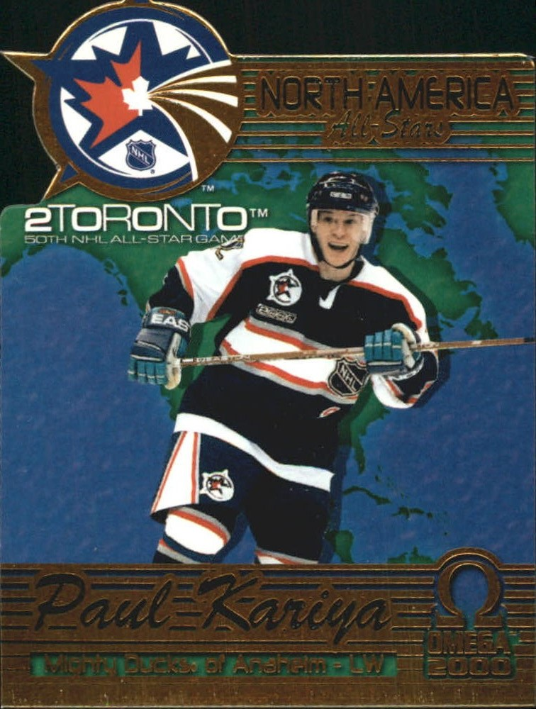 1999-00 Pacific Omega North American All-Stars #1 Paul Kariya