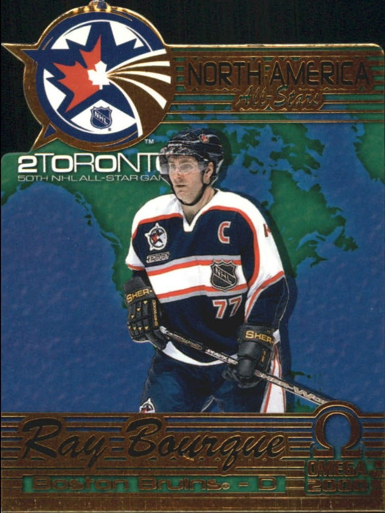 1999-00 Pacific Omega North American All-Stars #2 Ray Bourque