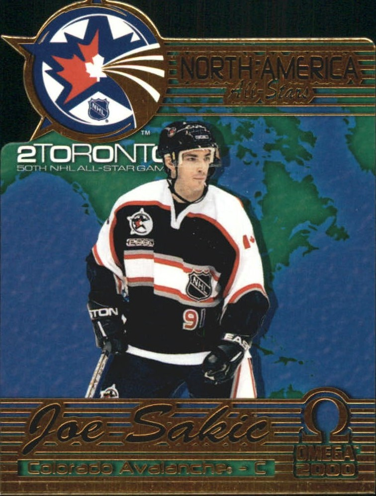 1999-00 Pacific Omega North American All-Stars #3 Joe Sakic