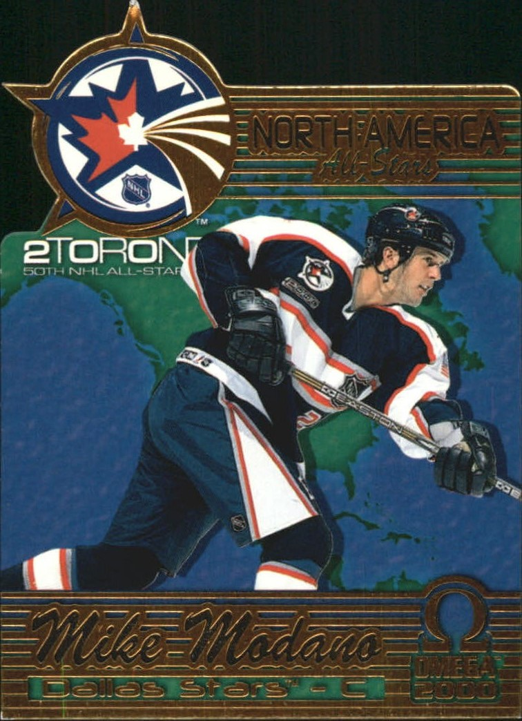 1999-00 Pacific Omega North American All-Stars #4 Mike Modano