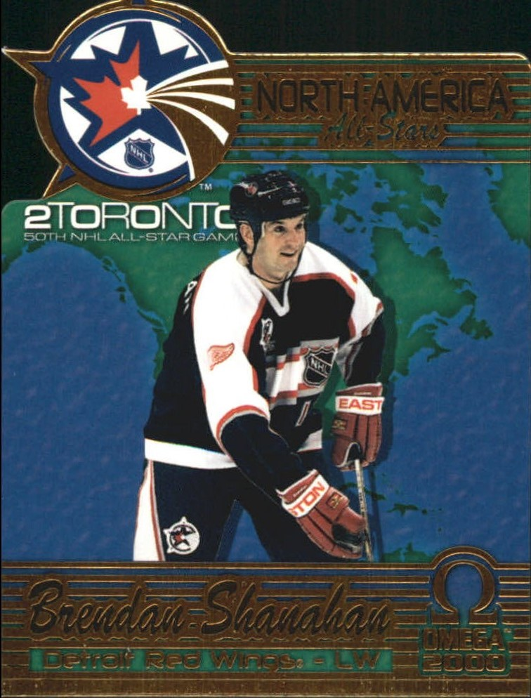 1999-00 Pacific Omega North American All-Stars #5 Brendan Shanahan