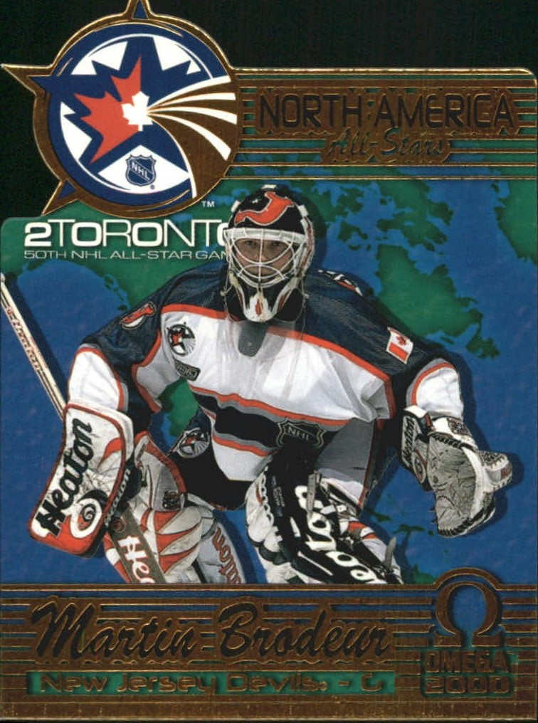 1999-00 Pacific Omega North American All-Stars #7 Martin Brodeur