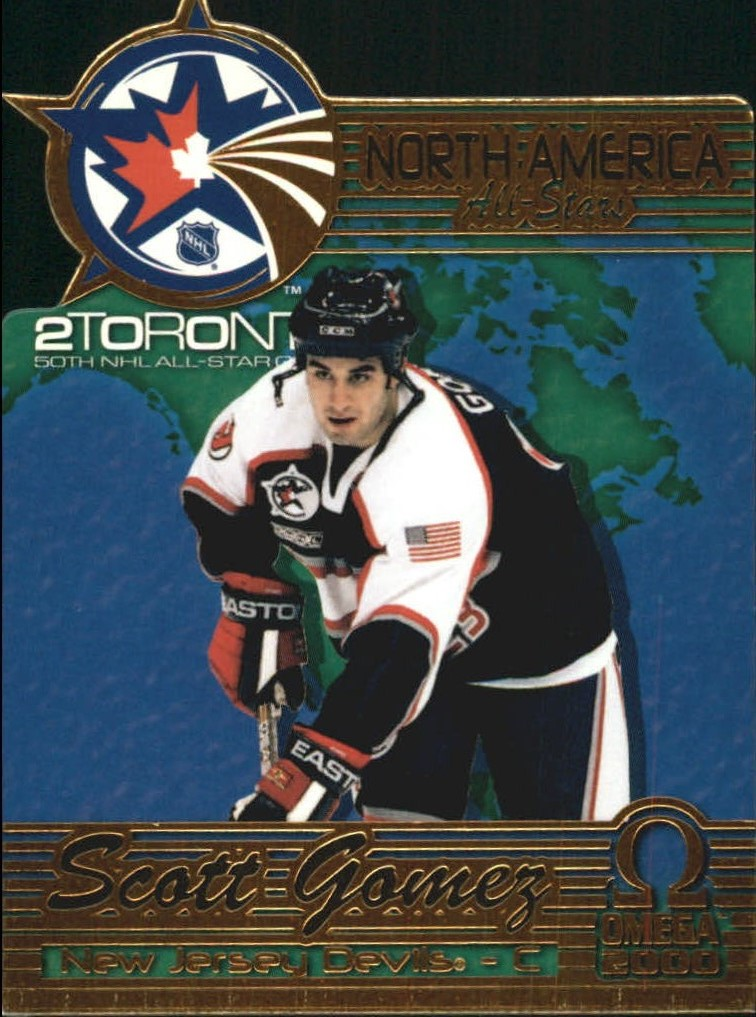 1999-00 Pacific Omega North American All-Stars #8 Scott Gomez