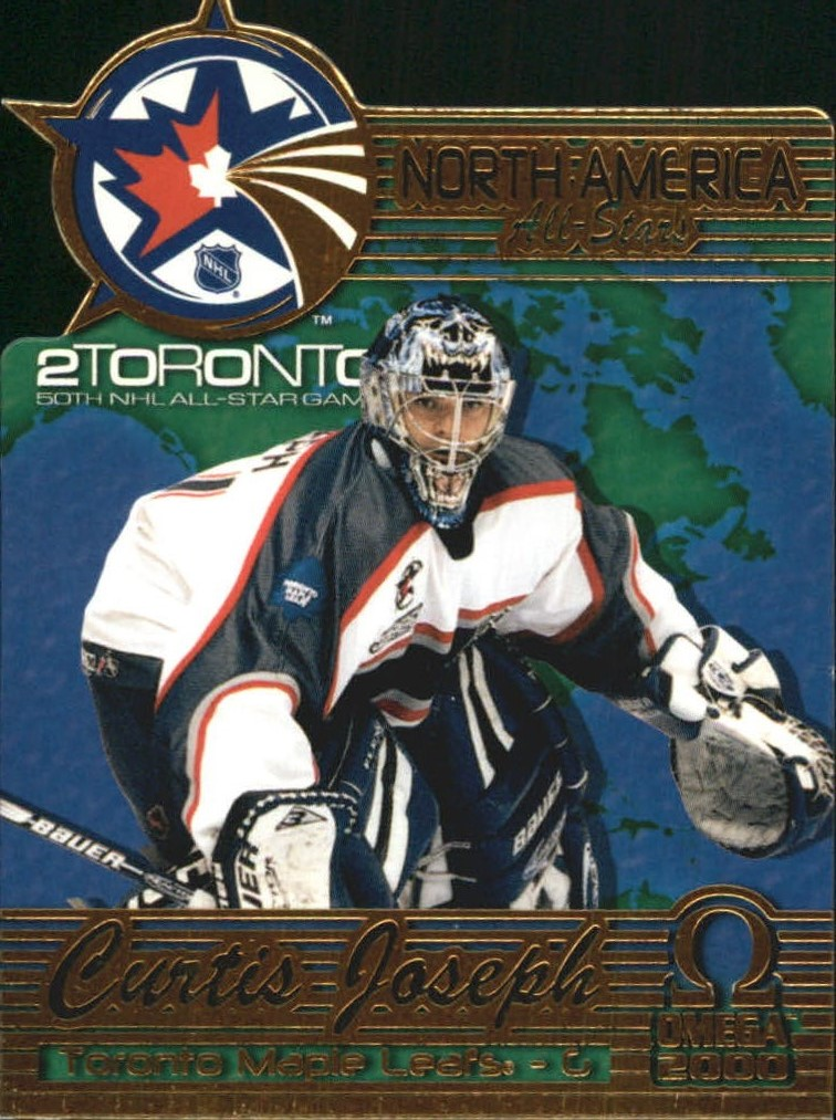1999-00 Pacific Omega North American All-Stars #9 Curtis Joseph