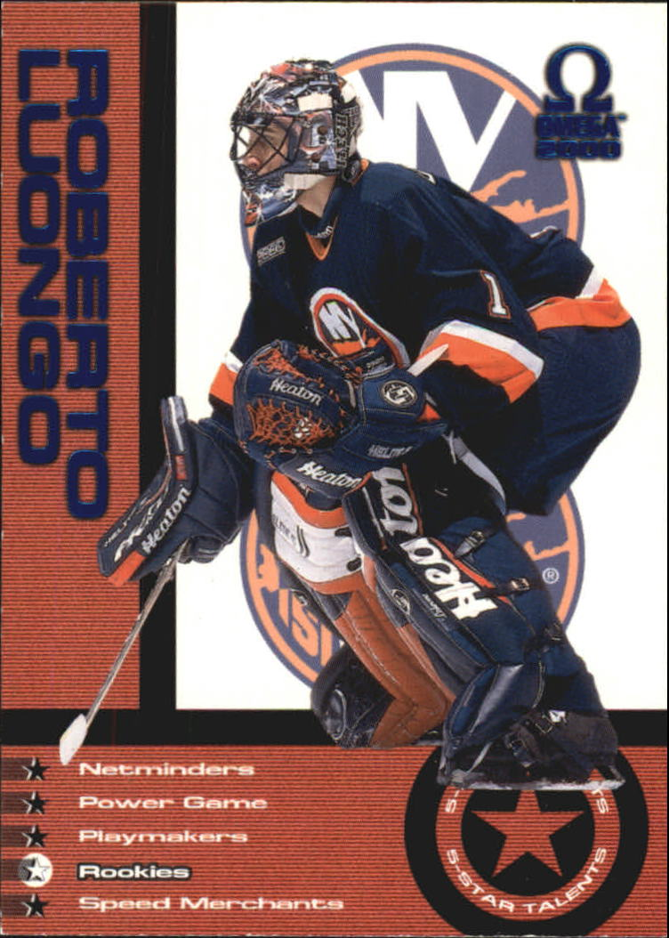 1999-00 Pacific Omega 5 Star Talents Parallel #5 Roberto Luongo