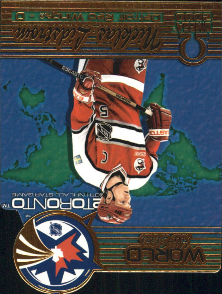 1999-00 Pacific Omega World All-Stars #3 Nicklas Lidstrom