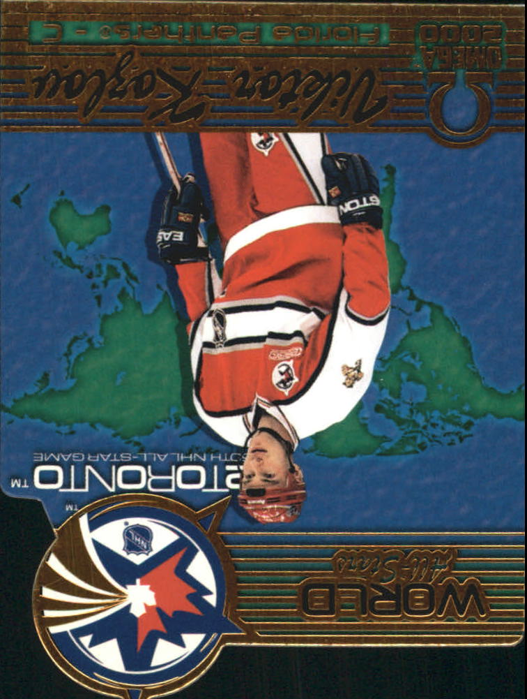 1999-00 Pacific Omega World All-Stars #5 Viktor Kozlov