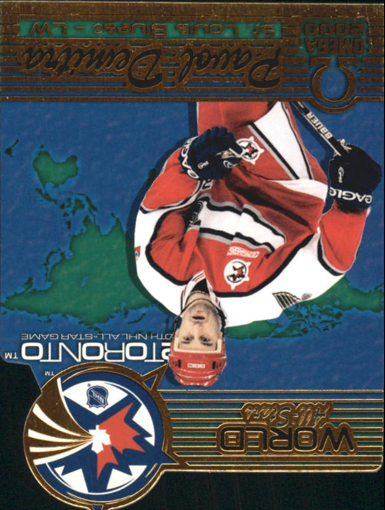 1999-00 Pacific Omega World All-Stars #7 Pavol Demitra