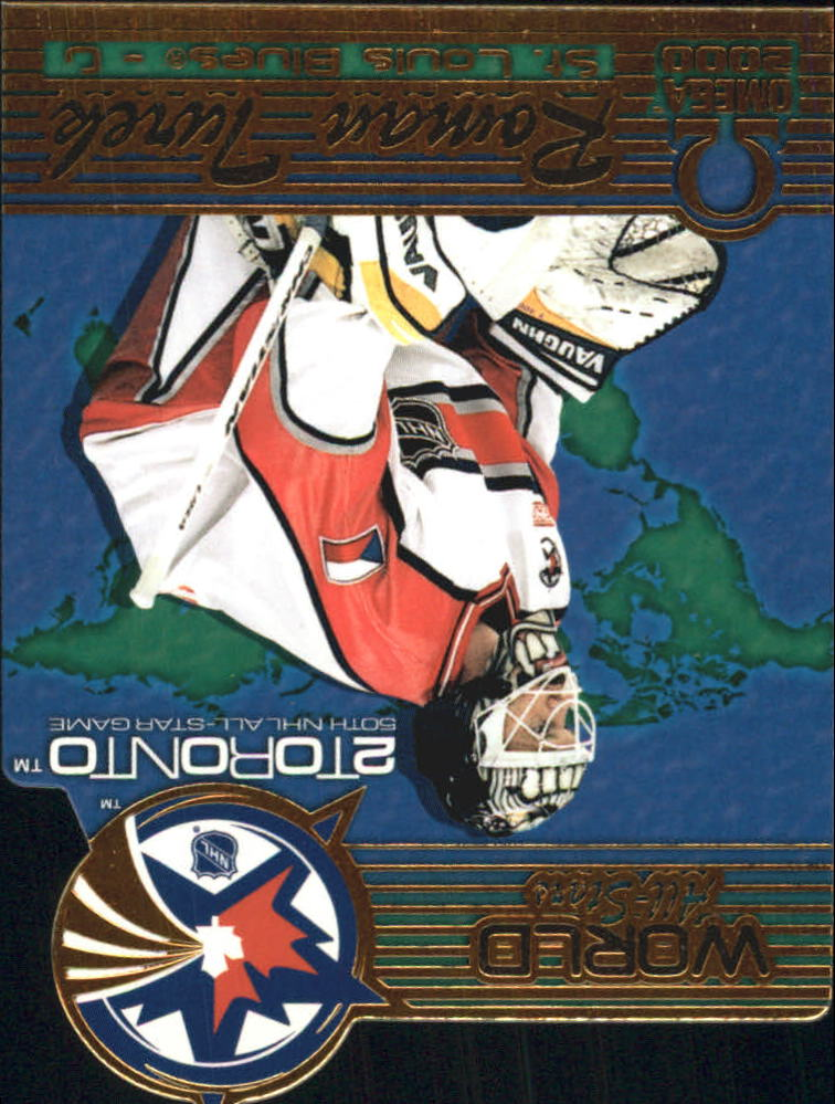 1999-00 Pacific Omega World All-Stars #8 Roman Turek