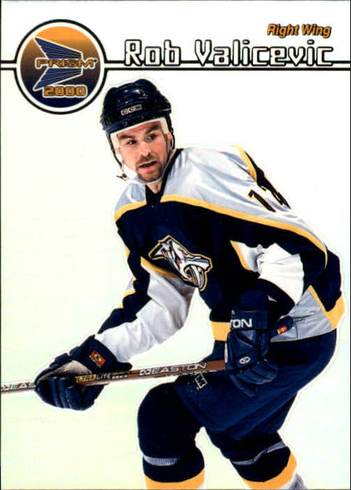 1999-00 Pacific Prism #78 Rob Valicevic RC