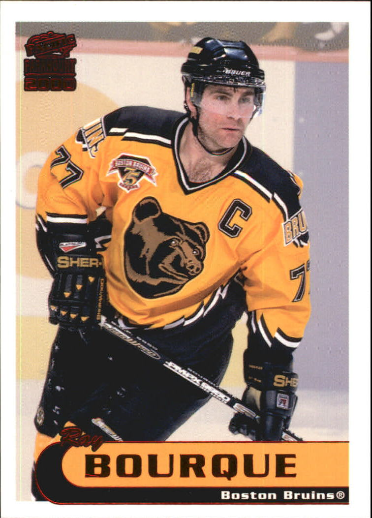1999-00 Paramount Red #17 Ray Bourque