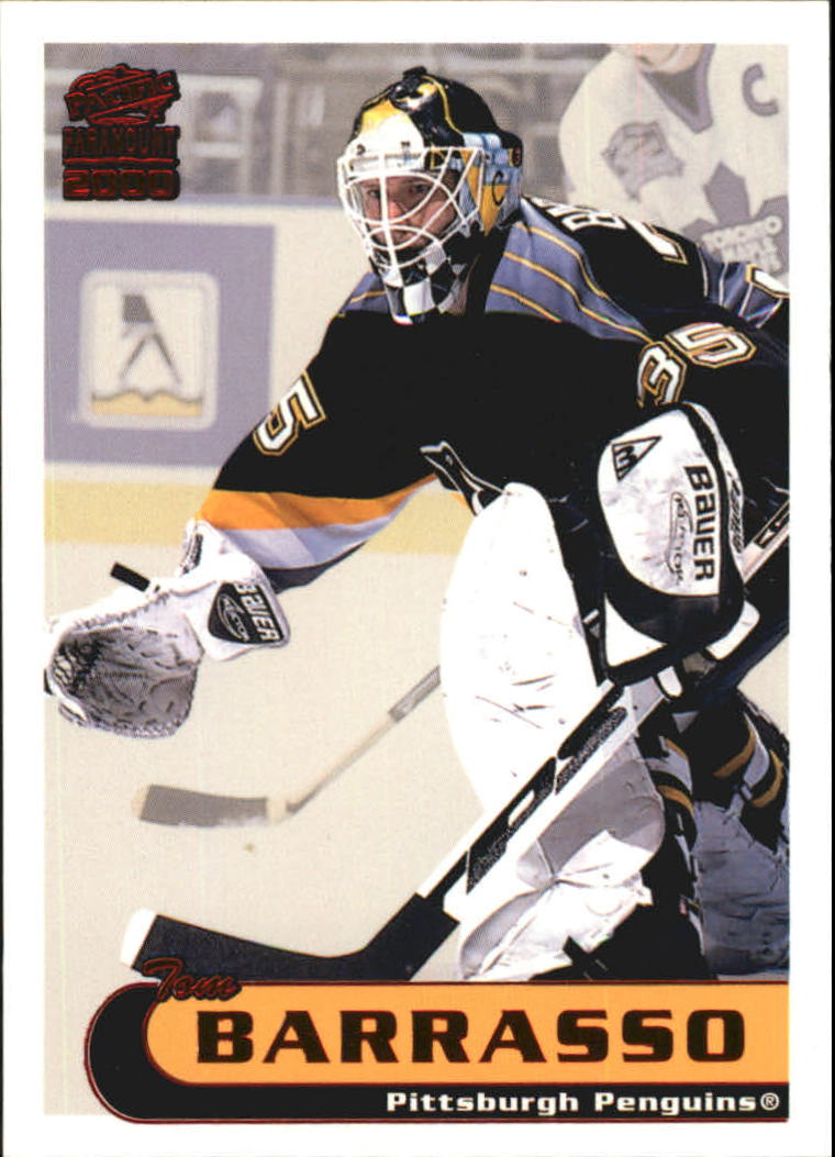 1999-00 Paramount Red #187 Tom Barrasso