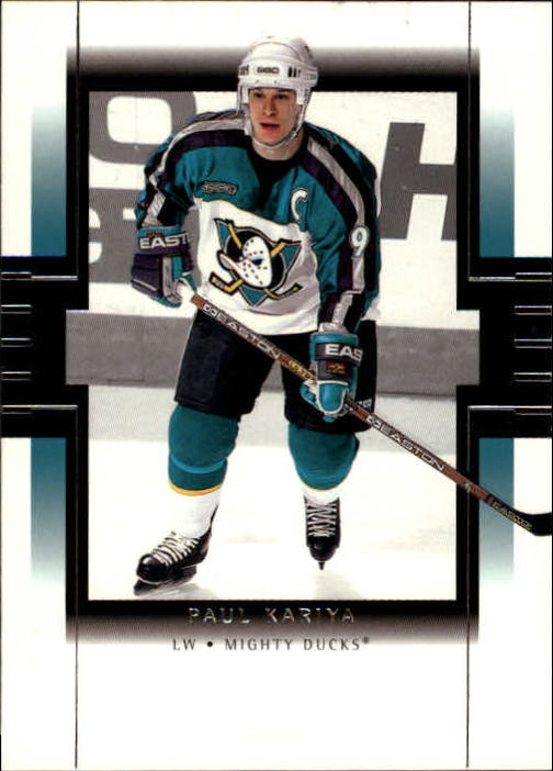 1999-00 SP Authentic #1 Paul Kariya