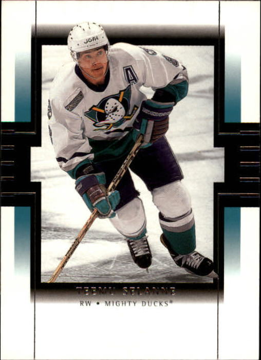 1999-00 SP Authentic #2 Teemu Selanne