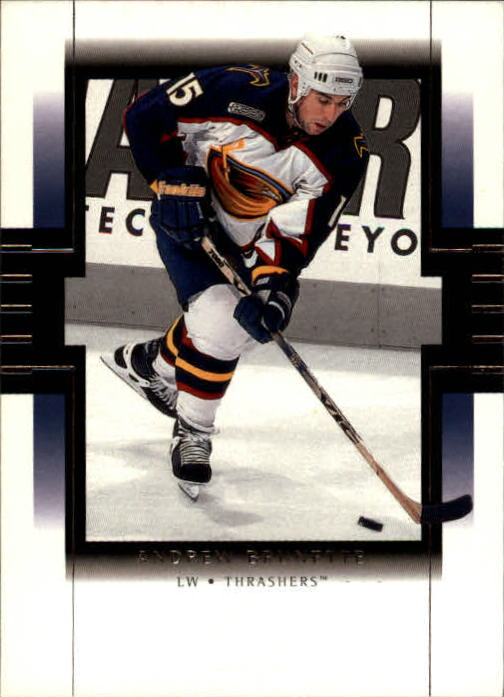 1999-00 SP Authentic #5 Andrew Brunette