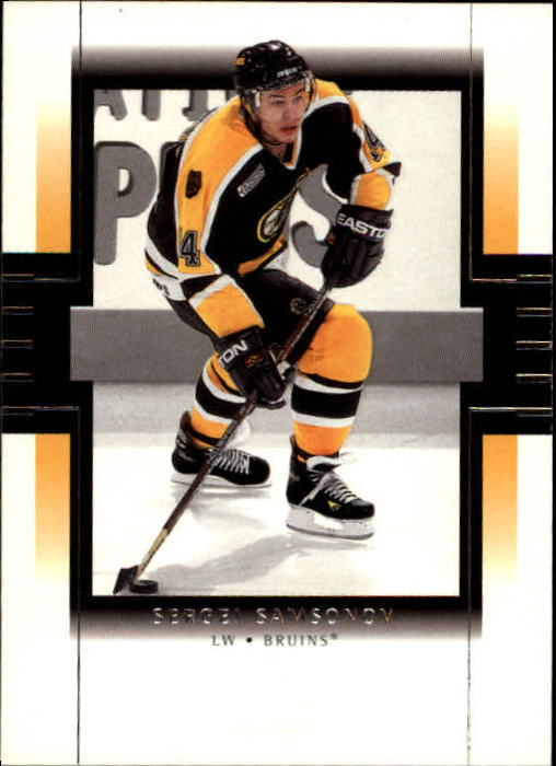 1999-00 SP Authentic #8 Sergei Samsonov