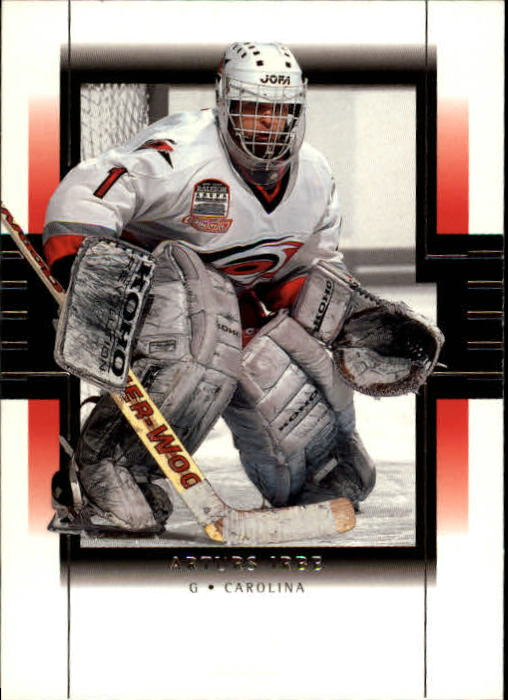 1999-00 SP Authentic #17 Arturs Irbe