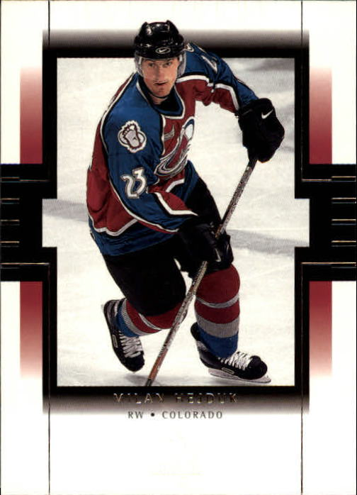 1999-00 SP Authentic #22 Milan Hejduk