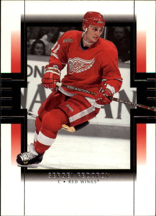 1999-00 SP Authentic #33 Sergei Fedorov