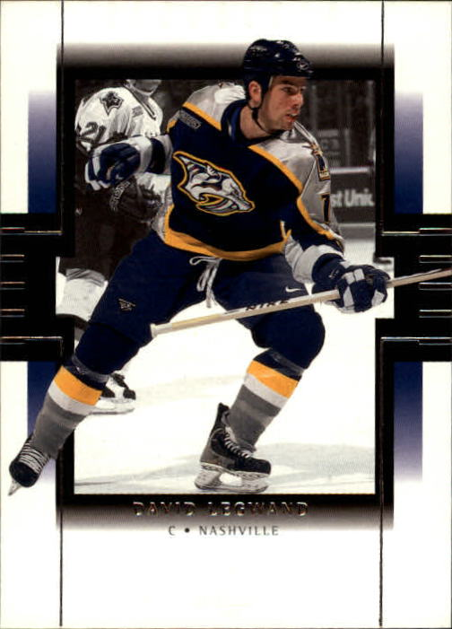 1999-00 SP Authentic #46 David Legwand