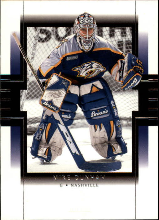 1999-00 SP Authentic #47 Mike Dunham