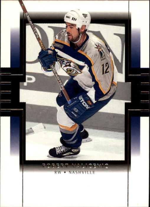1999-00 SP Authentic #48 Rob Valicevic RC