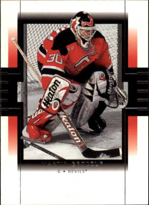 1999-00 SP Authentic #49 Martin Brodeur