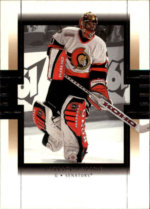 1999-00 SP Authentic #61 Patrick Lalime