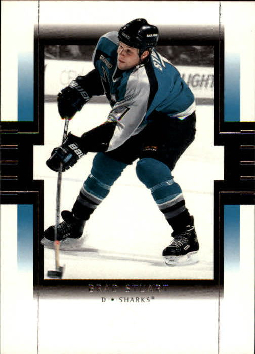 1999-00 SP Authentic #71 Brad Stuart