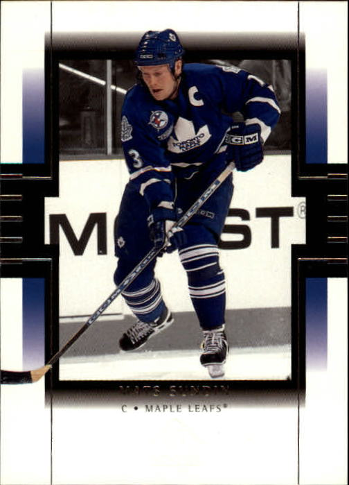 1999-00 SP Authentic #81 Mats Sundin