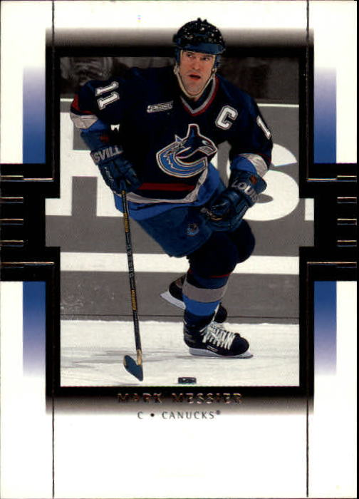 1999-00 SP Authentic #85 Mark Messier