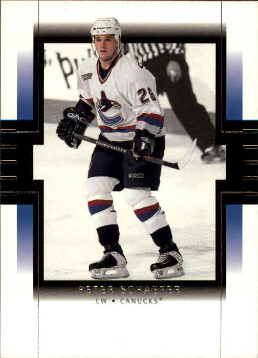 1999-00 SP Authentic #86 Peter Schaefer