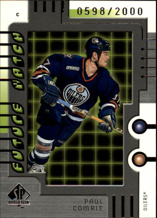 1999-00 SP Authentic #103 Paul Comrie RC