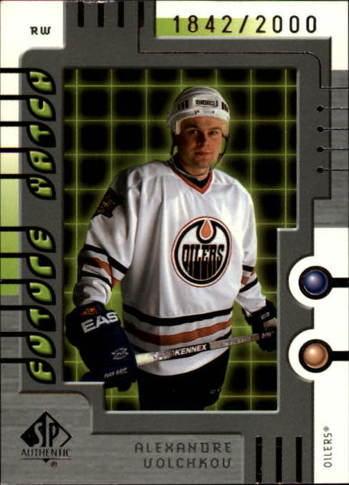 1999-00 SP Authentic #121 Alexandre Volchkov RC