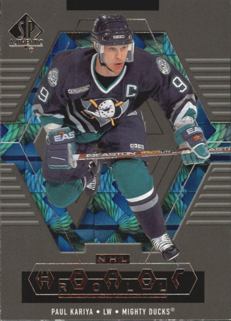 1999-00 SP Authentic Honor Roll #HR1 Paul Kariya