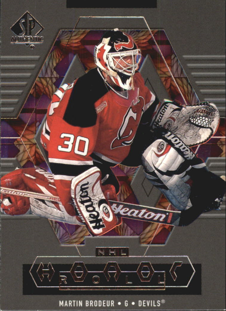 1999-00 SP Authentic Honor Roll #HR4 Martin Brodeur