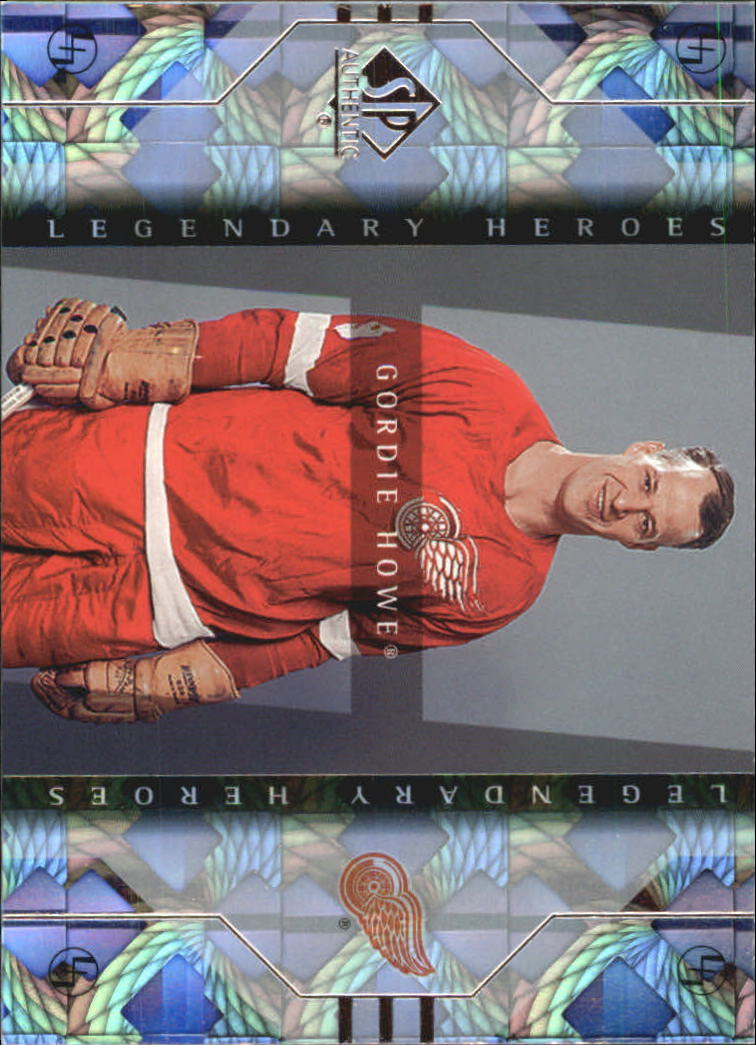 1999-00 SP Authentic Legendary Heroes #LH3 Gordie Howe