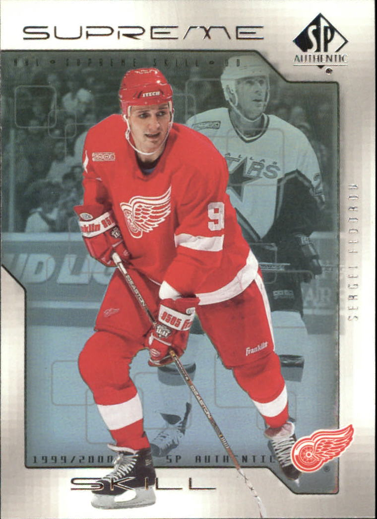 1999-00 SP Authentic Supreme Skill #SS5 Sergei Fedorov