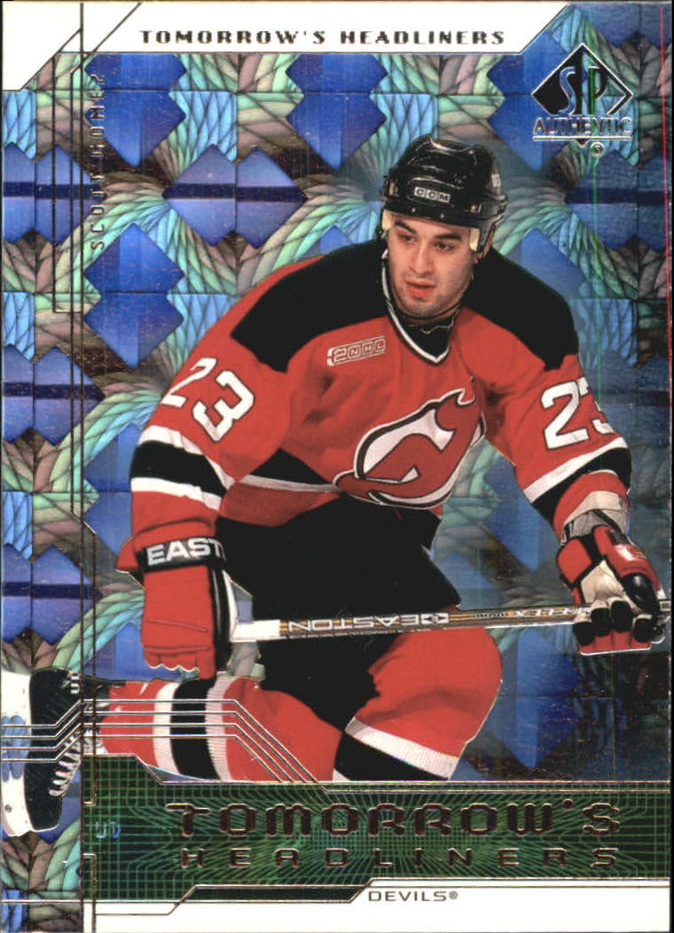 1999-00 SP Authentic Tomorrow's Headliners #TH6 Scott Gomez