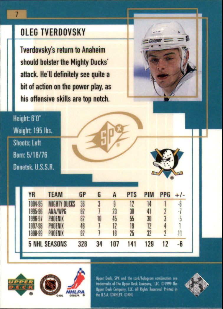 1999-00-SPx-Hockey-Cards-Pick-From-List miniature 11