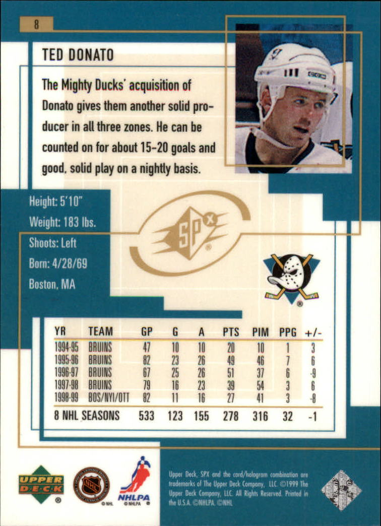 1999-00-SPx-Hockey-Cards-Pick-From-List miniature 13