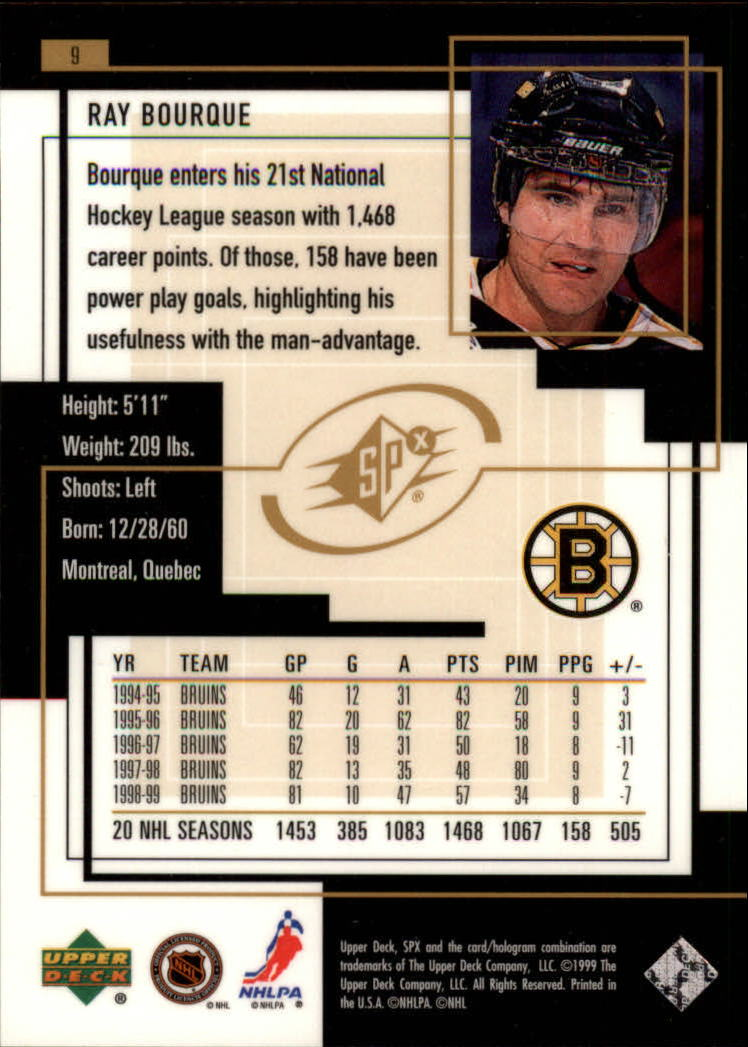 1999-00-SPx-Hockey-Cards-Pick-From-List miniature 15