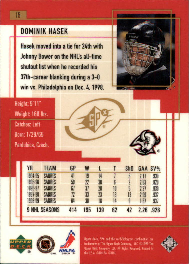 1999-00-SPx-Hockey-Cards-Pick-From-List miniature 21